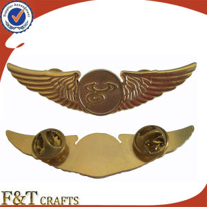 Lapel Pin Custom Pilot Wings Lapel Wholesale Butterfly Pins pictures & photos