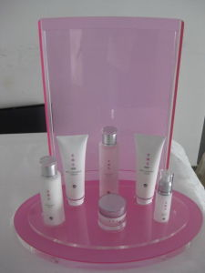 Order Custom Acrylic Makeup Display Stand, Plexiglass Cosmetic Display pictures & photos