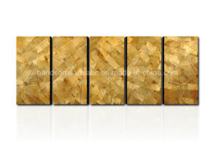 Abstract Metal Oil Painting / Metal Wall Art Decor for 5 Panels pictures & photos