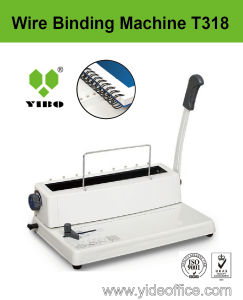 Mini A4 Size Wire Binding Machine (T318) pictures & photos