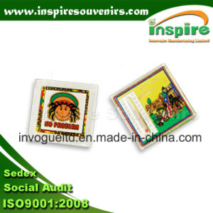 Acrylic Square Fridge Magnet with Printing Paper Insert pictures & photos