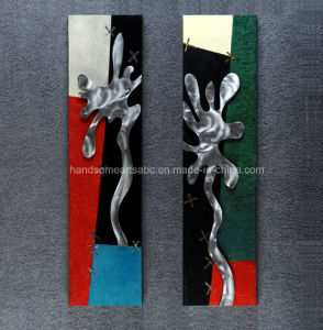 Abstract Graffiti Paiting / Metal Craft / Simple Oil Painting pictures & photos