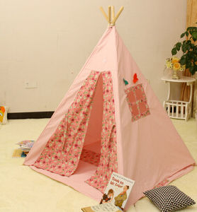 Radiate Pine Wood Teepee Children Camping Tent (MW6026) pictures & photos