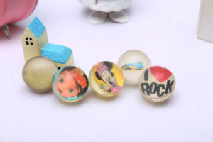 This Is a High Elastic Transparent Card Elastic Ball/Bouncy Ball/Bouncing Ball