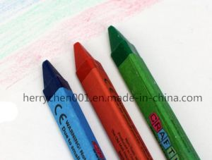 3pk Triangle Shape Crayon 9X80mm, Sky-320 pictures & photos