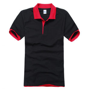 Customized High Quality (100%Cotton Pique) Polo Shirt for Man pictures & photos