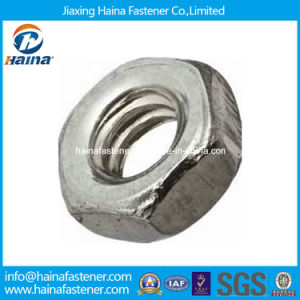 Small Pattern Hex Machine Screw Nut Made in China pictures & photos