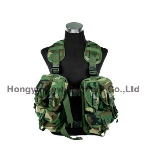 Molle Tactical Vest with Multi Pockets for Military/ Police (HY-V052)