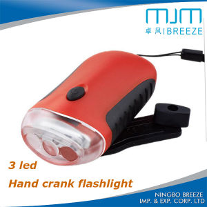 2016 Popular Item MP04 Hand Crank Rechargeable Dynamo Torch pictures & photos
