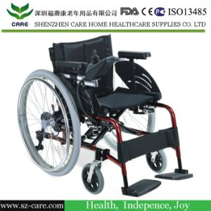 Aluminum Folding Electric Battery Power Wheelchair for Sales