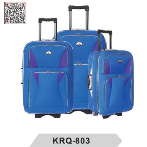 Shandong Silk EVA External Trolley Travel Lugage pictures & photos
