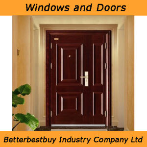 High-End Quality Steel Single One & Half Door pictures & photos