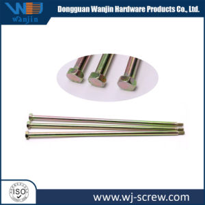OEM Hex Head Stainless Steel, Iron Zinc-Plated Precision Long Bolt
