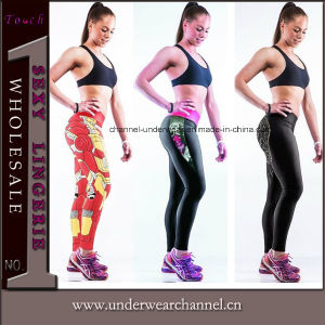 Printed Women′s Sports Wear Fitness Tights Yoga Gym Leggings (TYDC014) pictures & photos