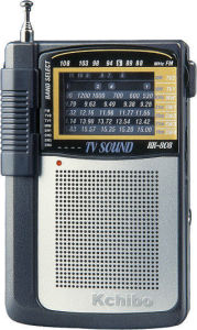 Kchibo Kk-808 FM/TV Sound/MW/Sw 8 Band Radio