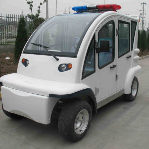 Electric Car, 4 Seats, Closed, CE Approved pictures & photos