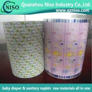 SGS Certification Factory Price Adult Diaper Raw Materials Frontal Tape with PP Materials pictures & photos