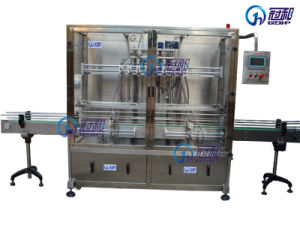 Automatic Shampoo Filling Machine with Bottle Packaging Line pictures & photos
