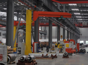 Bzd-A1 Type Column Jib Crane with 300 Degree pictures & photos
