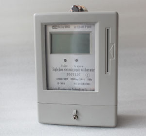 Dtsy5558 Three Phase Prepaid Electric Meter pictures & photos