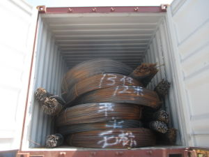 HRB400 Construction Reinforcing Rebar Deformed Steel Bars pictures & photos