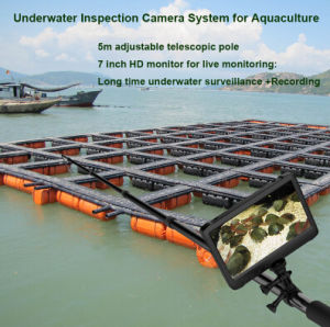 Portable 5 Meter Telescopic Pole Underwater Inspection Camera with Video Recording with 64GB Storage pictures & photos