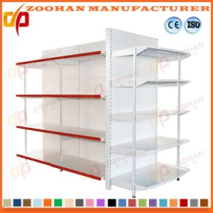 Hot Sale Metal Gondola Supermarket Display Shelving Store Shelf (Zhs123) pictures & photos