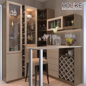 China Turn Angle Wine Cabinet Bar Counter