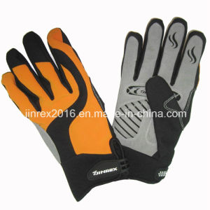 Winter Waterproof Windproof Warm Sport Full Fingers Glove-Jg12m049 pictures & photos