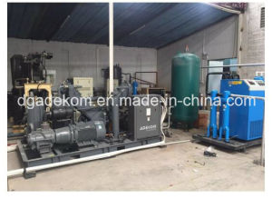 4.0MPa High Pressure Pet Screw Piston Oil Free Air Compressor (KSP110/90-40) pictures & photos