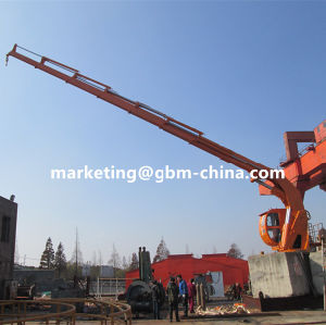Telescopic Knuckle Boom Marine Deck Crane Manufacture pictures & photos