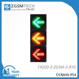 200mm 8 Inch Red Yellow Green Arrow LED Signal Light