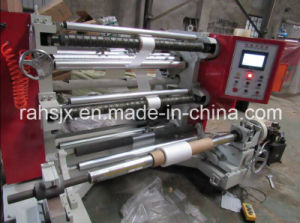 Vertical Type OPP Plastic Film Slitting Rewinder Machine pictures & photos