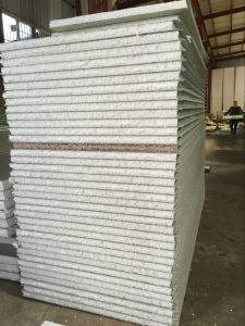 EPS Foamed Steel Sandwich Panel for Hot & Cold Insulation pictures & photos