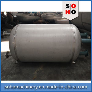 ISO Qualified Stainless Steel Horizontal Gas Storage Tank pictures & photos