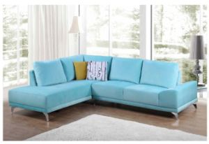 Latest Design Modern European Cozy Fabric Corner Sofa