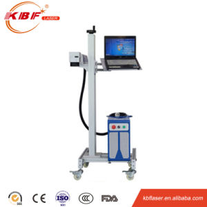 High Quality Fly Fiber Laser Marking Machine for Printing Cables and Wires pictures & photos