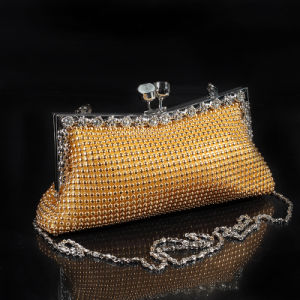 Korean with Cat′s Eye Diamond Banquet Package Bridal Bag Fashion Nightclub Shoulder Bag pictures & photos