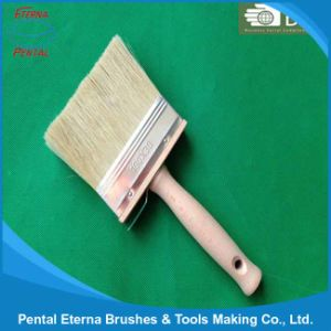 Wooden Handle Pet Hollow Filament and White Bristle Ceiling Brush pictures & photos