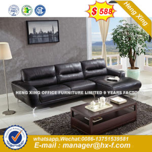 Italy Design Classic Wooden Office Furniture Leather Office Sofa (NS D8806)