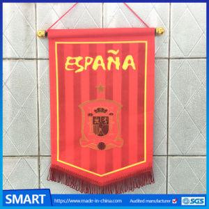Sports Pennant Factory Sales Custom Blank Felt Pennants and Mini Soccer  Team Pennant Flag