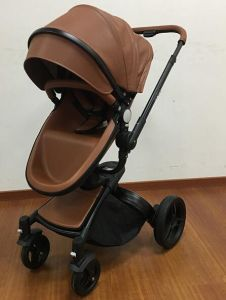 Pu Leather Baby Stroller Bd 906
