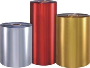 Pet Color (Silver&Golden) Metallized Thermal Lamination Film