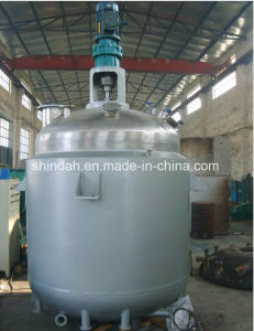 Hot Melt Adhesive Mixing Kettle Adhesive Reactor pictures & photos