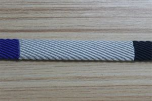 Factory Manufactured Jacquard Webbing Belt #1411-37A pictures & photos