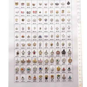 Easy DIY Nail Art Designs Alloy Christmas Decoration Accessories (D68)