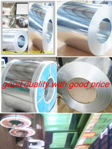 Galvanized Steel Coils (Thickness 0.12-1.5mm, Zinc 30-275G/M2, Width 600--250mm)