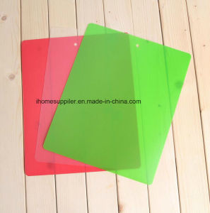 Pk1014 Plastic Flexible Non-Slip Thin Fruit Vegetable Chopping Mats