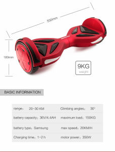 Best Two Wheels Electric Scooter Hoverboard From Koowheel