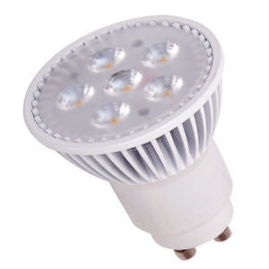 450 Lumen IC Dimmable 5W GU10 LED Bulb with ERP Listed